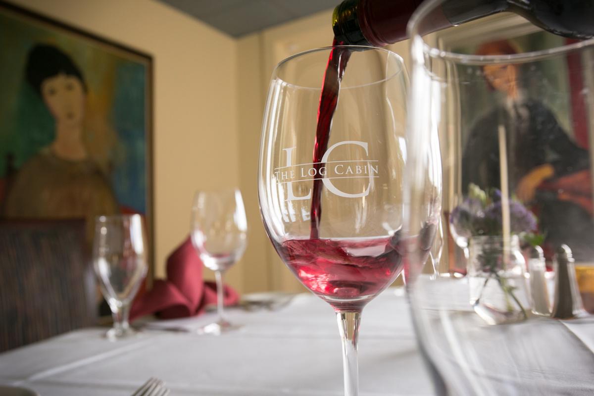Log Cabin Restaurant Red Wine