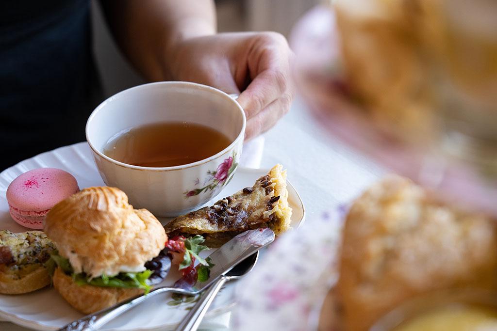 Tea party lunch La Petite Patisserie